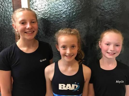 Grace, Evie & Alycia